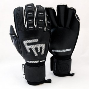Rękawice Football Masters BLACK CLIMA CONTACT GRIP RF